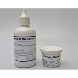 Herbal Mix Solution (100 ml) + Black salve (25 g)